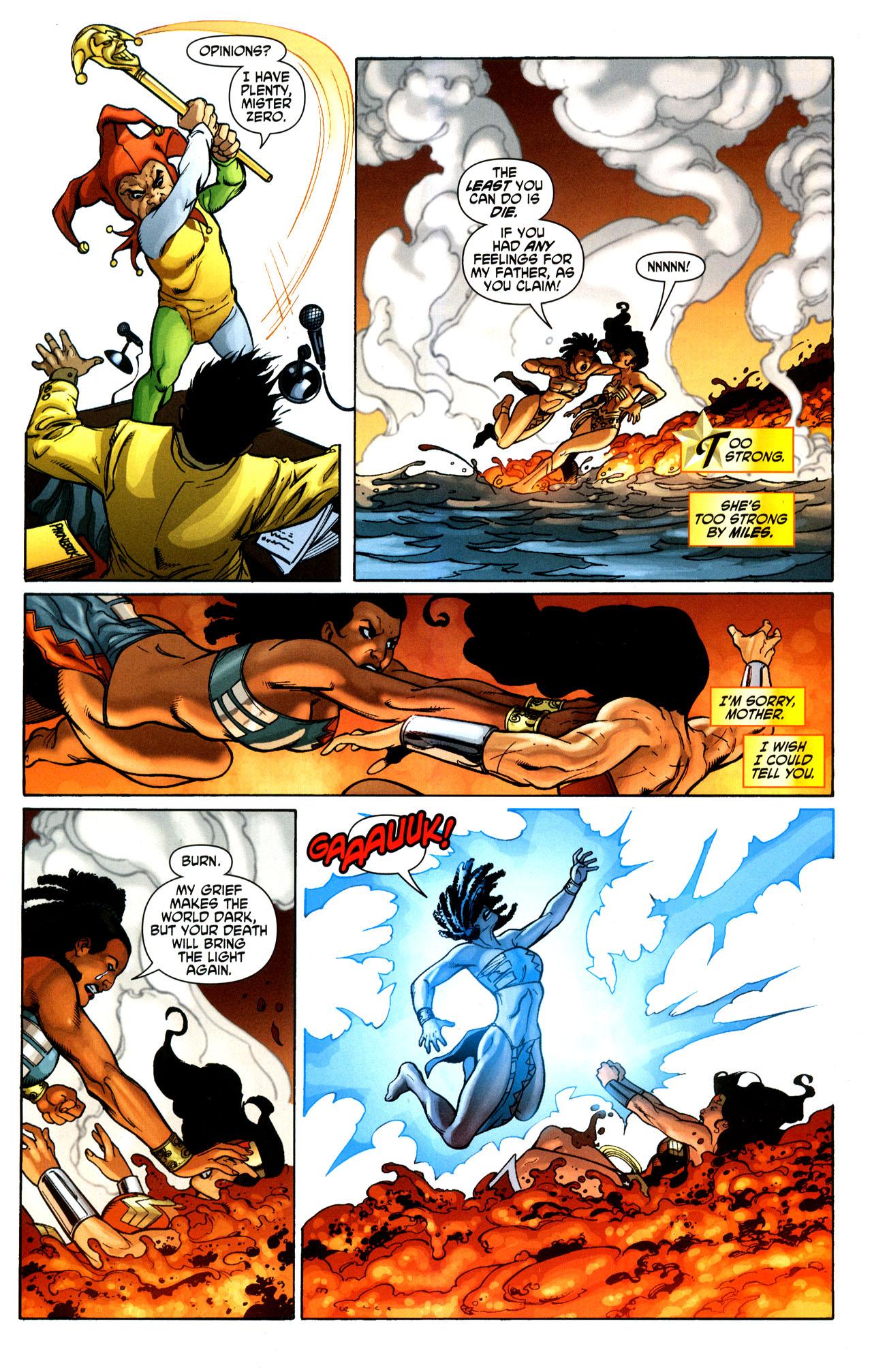Read online Wonder Woman (2006) comic -  Issue #35 - 20