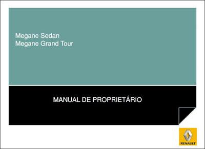 Manual do proprietário Renault Megane Sedan e Grand Tour
