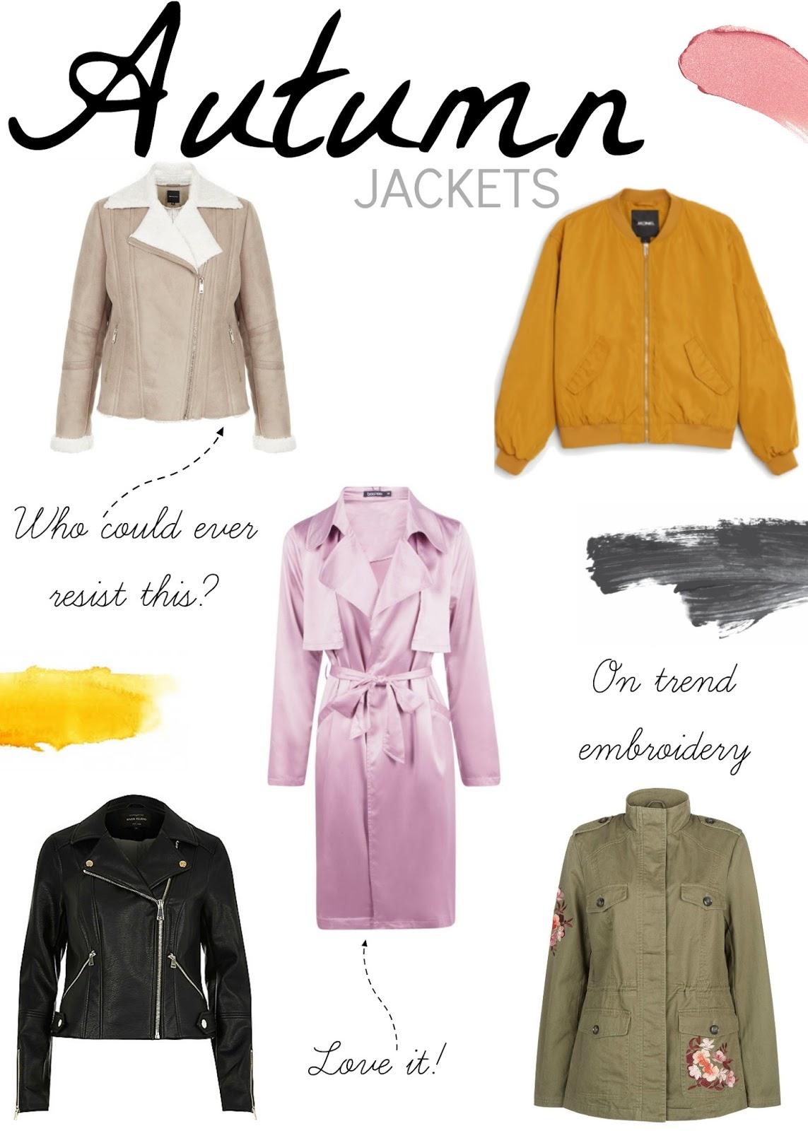 The Autumn Jacket Edit