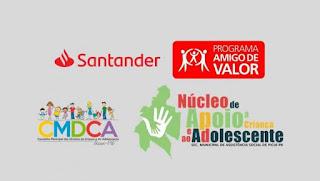 NACAD-Picuí é selecionado pelo banco Santander para fazer parte do Projeto Amigo de Valor