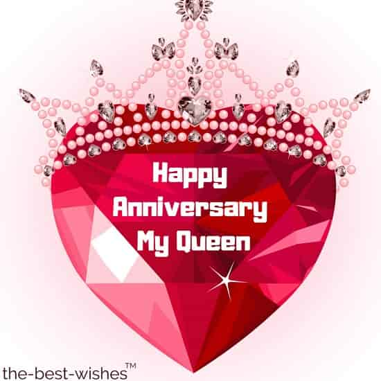 happy anniversary my queen