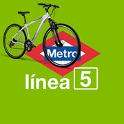 La bici sin Metro línea 5
