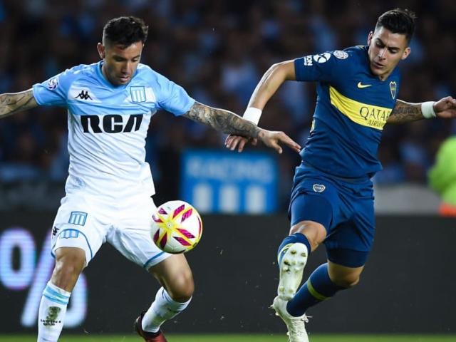Racing y Boca repartieron puntos en un partido cambiante e infartante  disputado en el Cilindro de Avellaneda. Los goles del partido fueron  convertidos por: ...