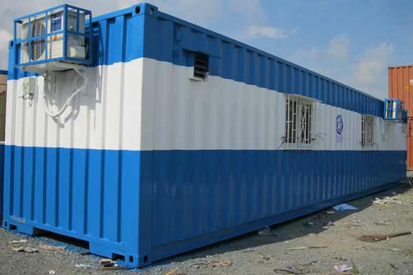Container 40 feet bao nhieu m3