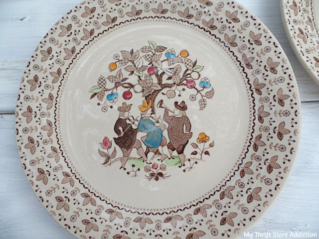 Johnson Brothers Sugar and Spice dishes
