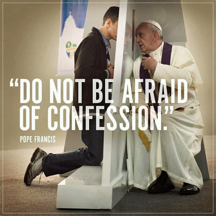 the sacrament of confession reaction Due to this fact of christian life we find great comfort in the sacrament of confession because we have god the father's reaction when we sin is not to.
