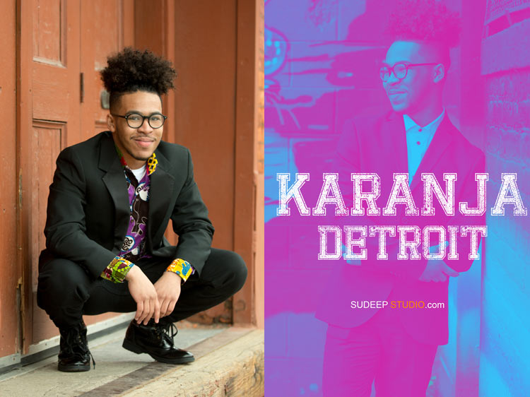 Guys Detroit Urban Senior Portrait Photography - Sudeep Studio.com