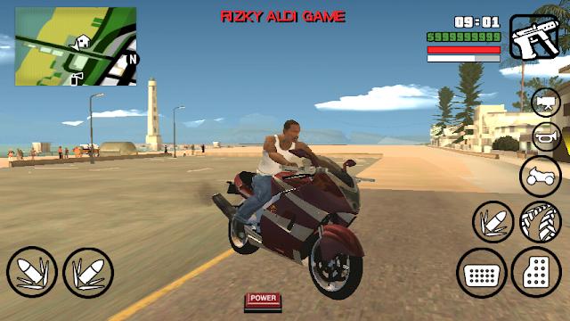 Hakuchou Bike Mod GTA San Andreas Android