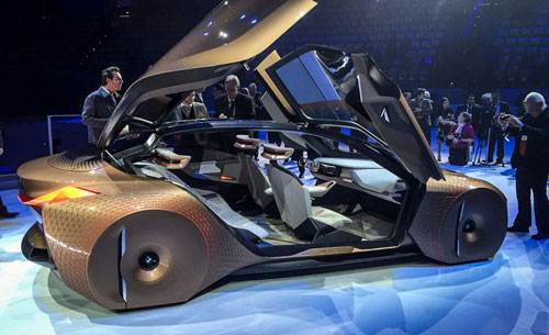 Mobil BMW Terbaru Vision Next 100