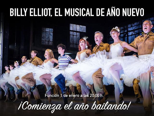 Billy Eliot , el único musical con función el 1 de enero
