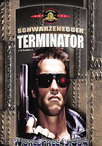 Poster Of The Terminator (1984) Full Movie Hindi Dubbed Free Download Watch Online At worldfree4u.com