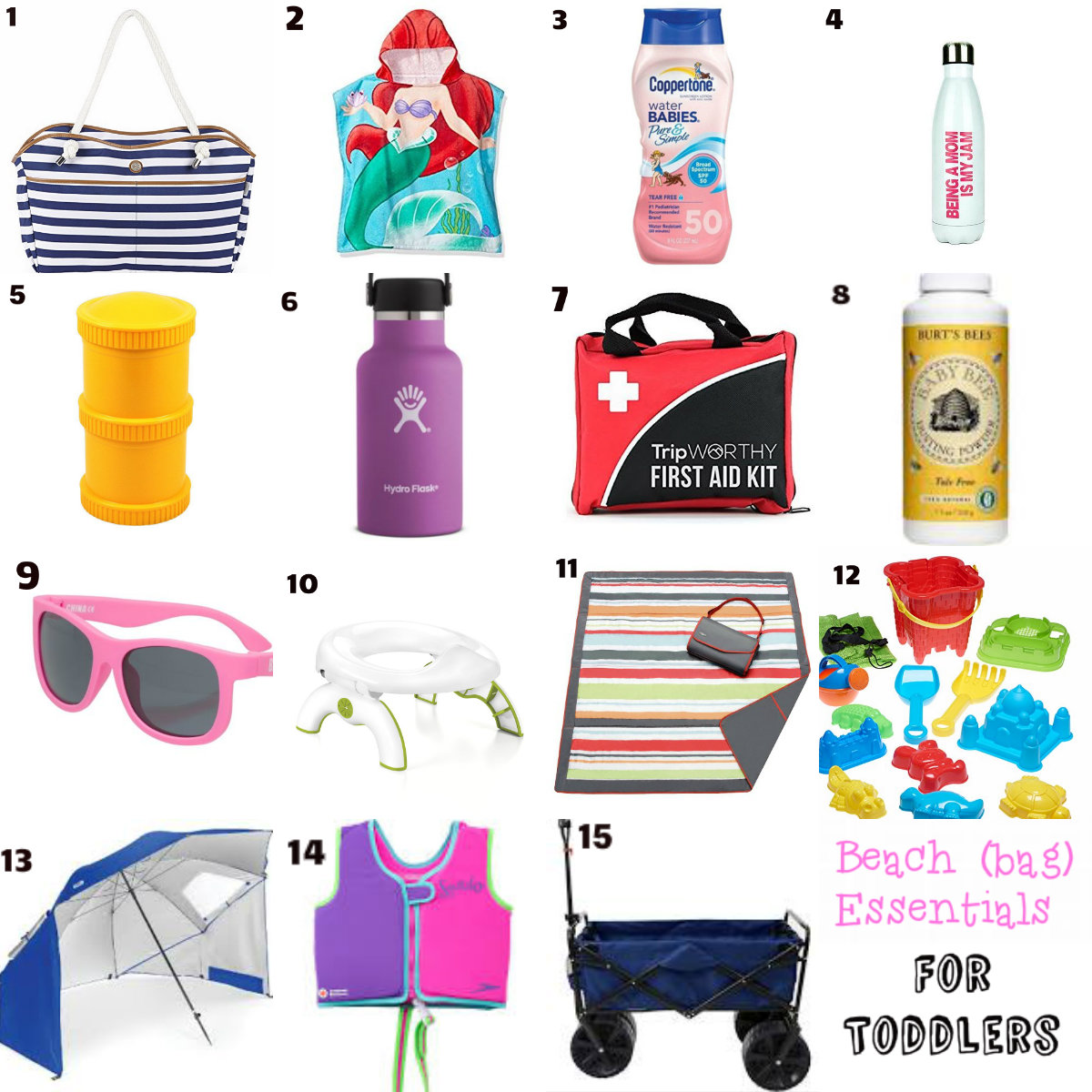 The Littlest Funk blog: Beach Bag Essentials | Toddler Edition