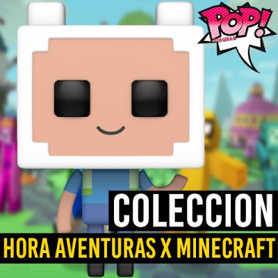 Lista de figuras funko pop de Funko Hora de Aventuras x Minecraft
