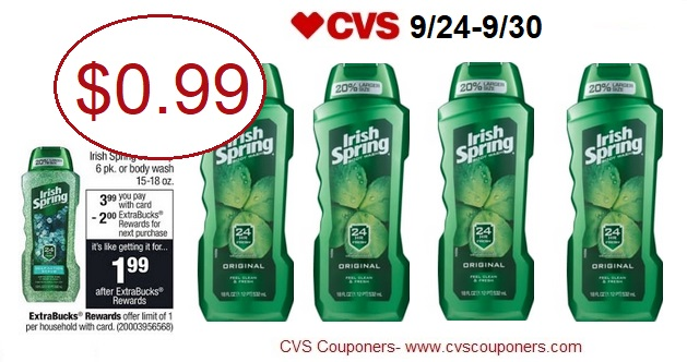 http://www.cvscouponers.com/2017/09/irish-spring-body-wash-only-099-at-cvs.html