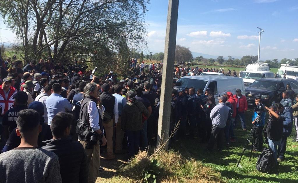Familias de los fallecidos en explosión de ducto exigen indemnización al gobierno de AMLO