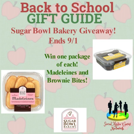 Sugar Bowl Bakery Giveaway