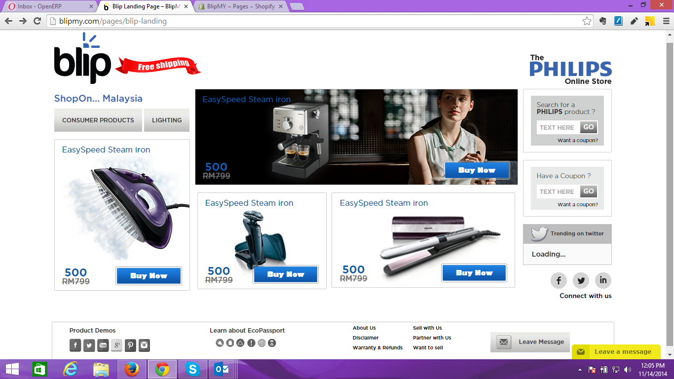 Philipps Online Shop Sugoi Days Shop Philips Online At Blip My
