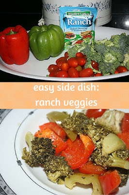 Making a side dish of ranch vegetables in the slow cooker is such an easy way to get the veggies done without babysitting them!