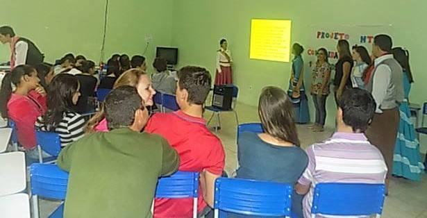 1ª PRENDA DA 10ª REGIÃO REALIZA A PRIMEIRA AÇÃO DO PROJETO MTG E A COMUNIDADE ESCOLAR
