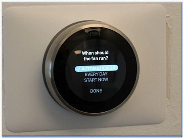 Nest thermostat circulate mode