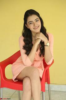 Rukshar Mir in a Peachy Deep Neck Short Dress 094.JPG