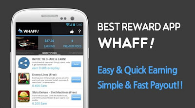 WHAFF Rewards: Dapat Pulsa Gratis