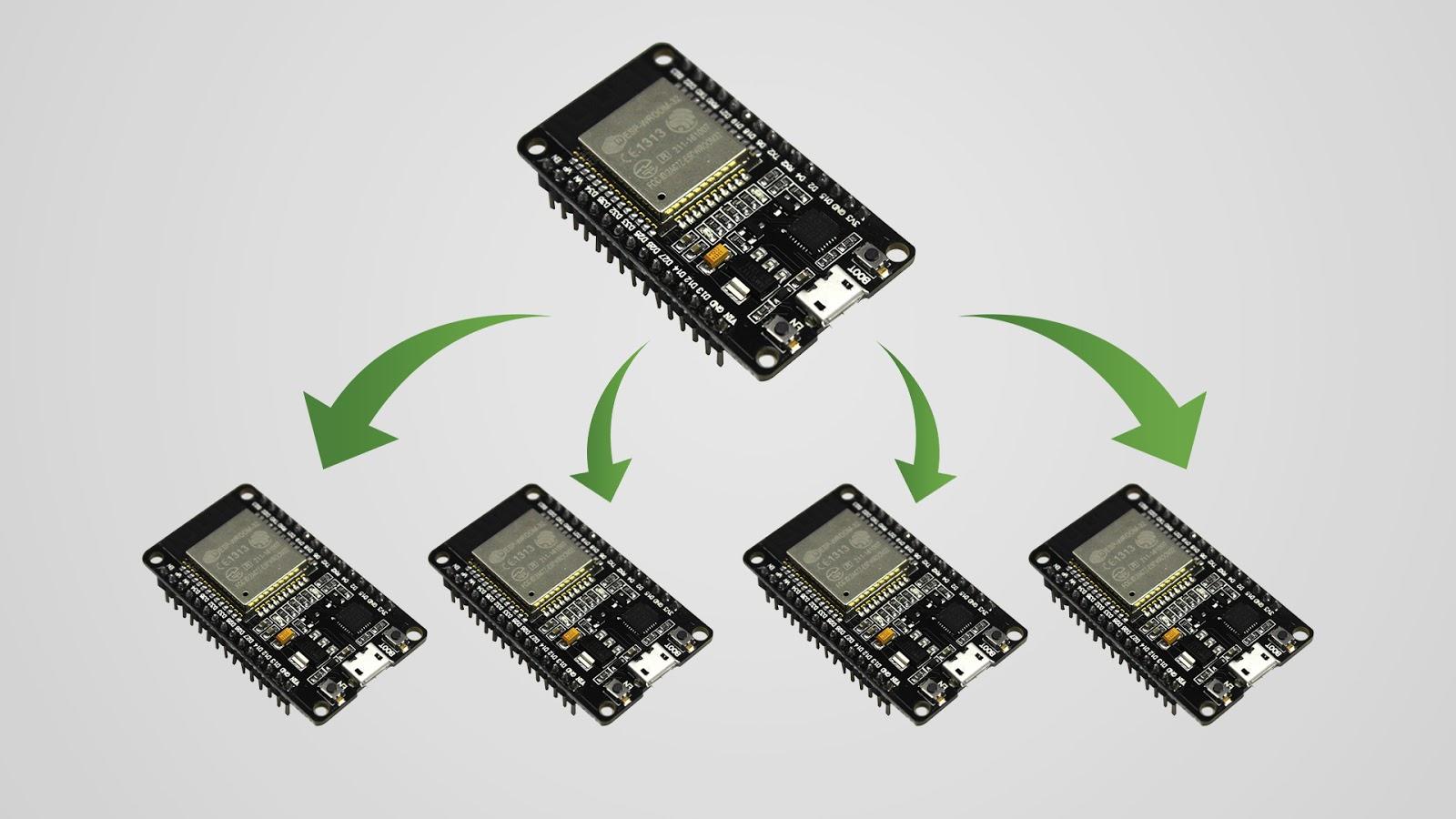 ESP32 com protocolo ESP-Now - Fernando K Tecnologia