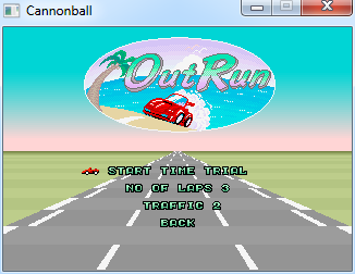 Play the original Outrun in 60 fps, true widecreen, etc