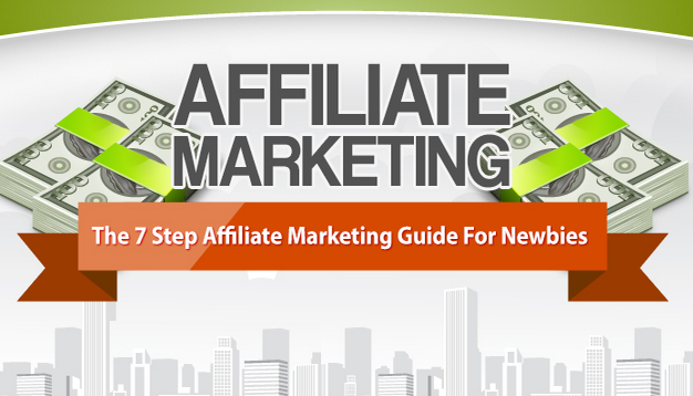 Affiliate Marketing Guide For Newbies {infographic}