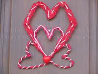 Grinalda/Guirlanda de Fevereiro (S. Valentim/Dia dos Namorados)