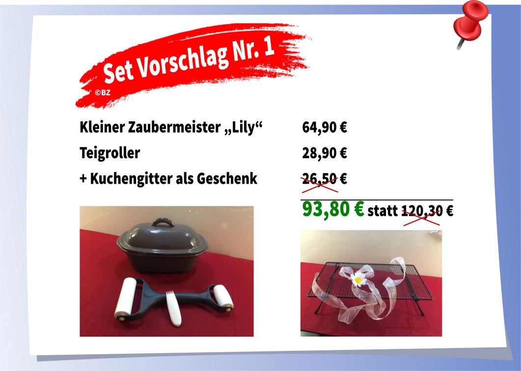 Pampered Chef Set-Vorschläge mit Kuchengitter als Geschenk | Martina ...