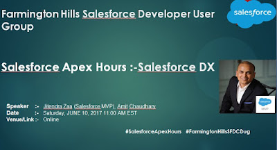 http://amitsalesforce.blogspot.com/2017/06/salesforce-apex-hours-salesforce-dx.html