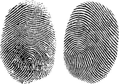 Resultado de imagen de dibujo huella dactilar