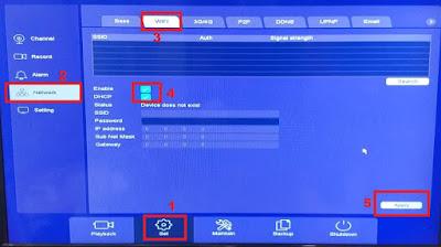 Cara setting wifi dongle usb untuk UVR SPC