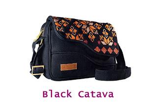 MOKAMULA FALEEN BAG, FALEEN BAG BLACK CATAVA