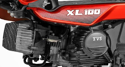 TVS XL 100 engine picture