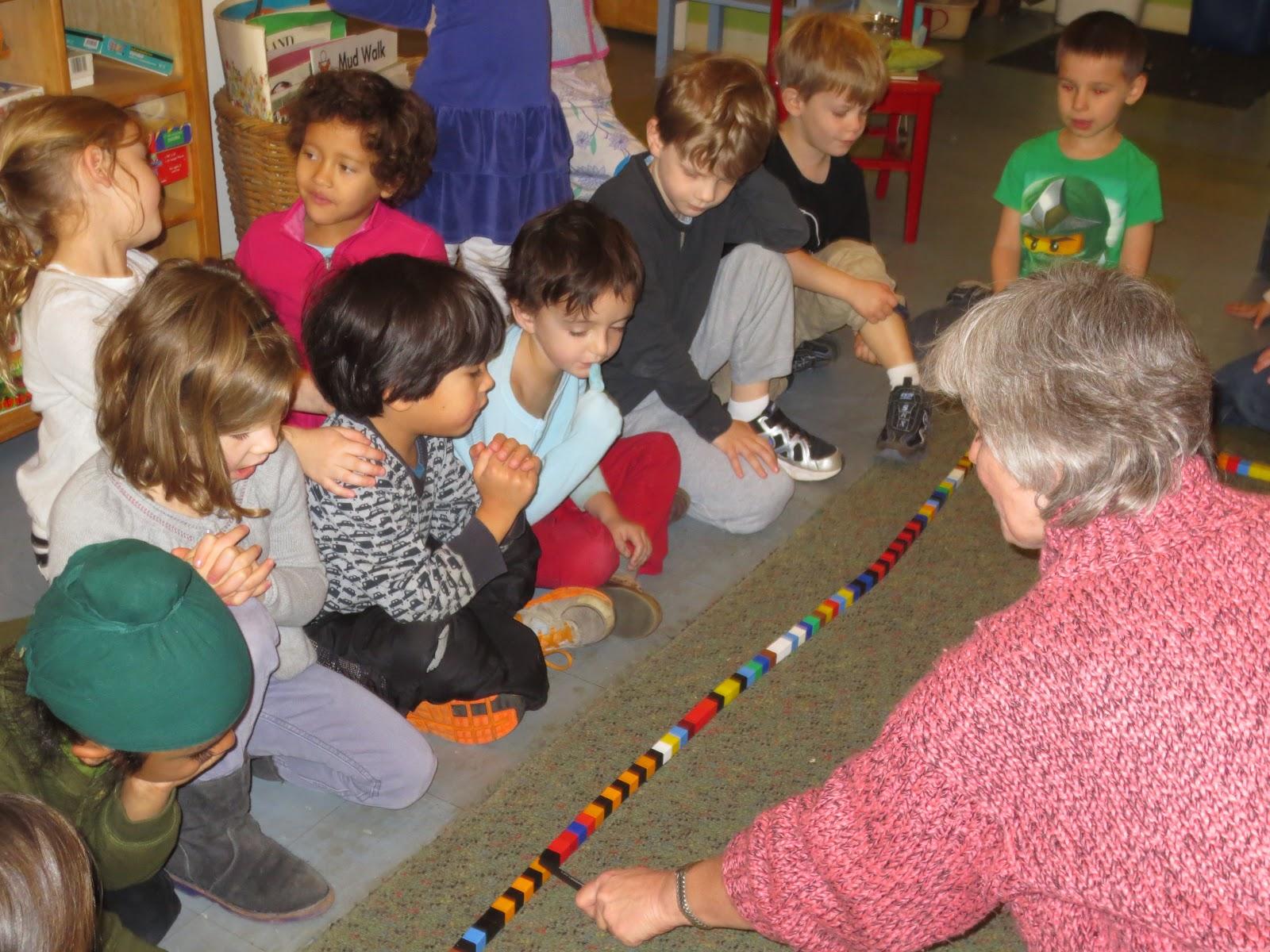 Kindergarten News Unifix Cubes