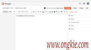 Mode Compose Blogger