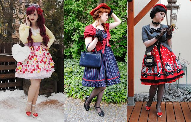 Retro Lolita Fashion 2015 - Outfit Summary/Podsumowanie stylizacji