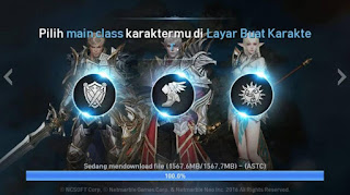 Ulasan Lineage2 Revolution Apk Review Hero