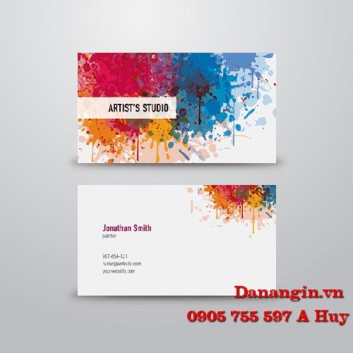 IN NAME CARD VISIT DANH THIẾP LẤY GẤP TẠI ĐÀ NẴNG 0905 755 597 A HUY