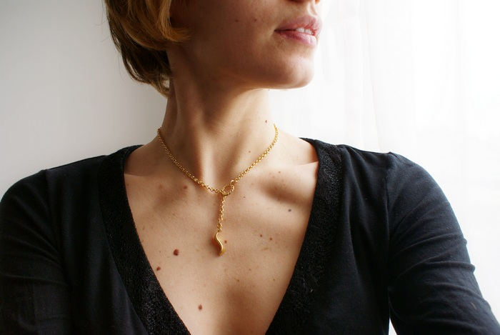 minimal circle necklace diy francinesplaceblog