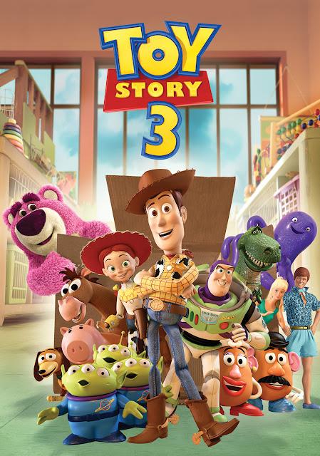 Cartel película de Pixar Animation Studios Toy Story 3