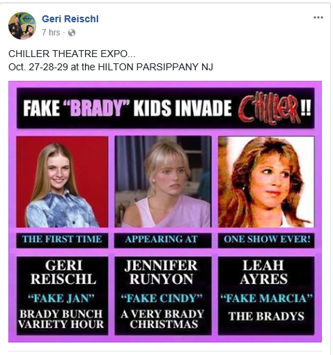 A Very Brady Christmas Cindy.The Brady Bunch Blog Fake Jan And Her Fake Sisters In Person