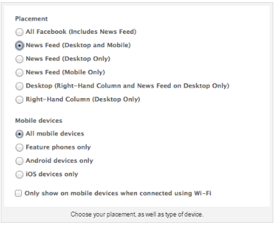 Facebook News Feed Ad Specs