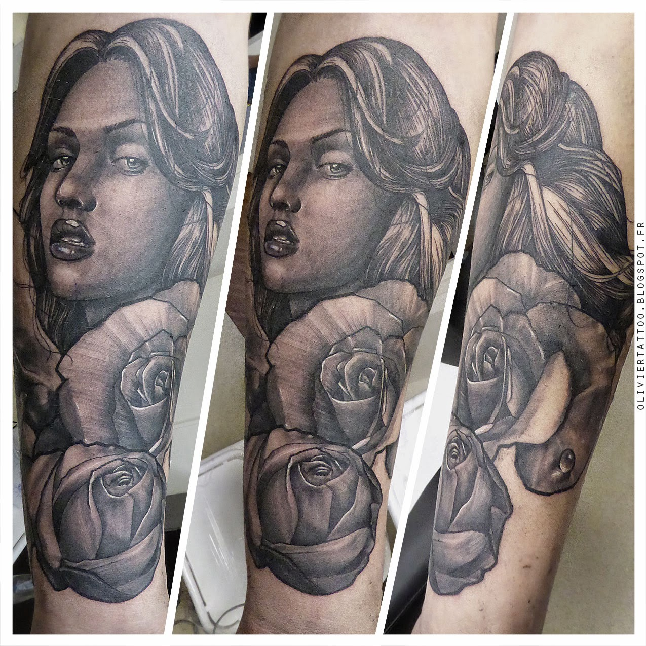 olivier-poinsignon-tatouage-realistes-portrait-woman-black-and-grey-tattoo-amazing