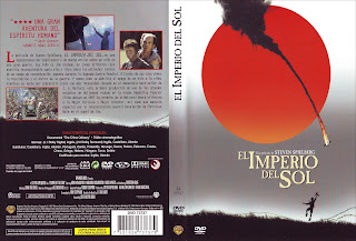 Carátula dvd: El imperio del sol (1987) Empire of the sun