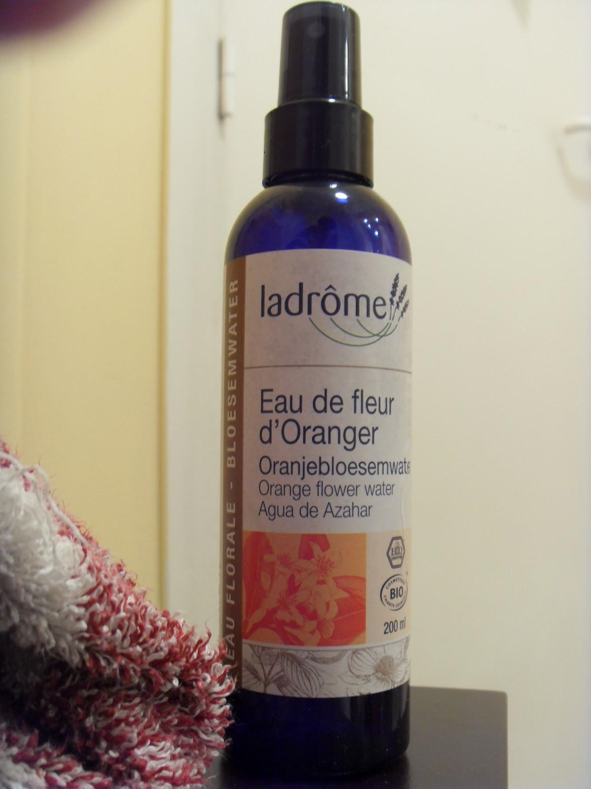 beauté bio: hydrolats de rose de damas et à la fleur d'oranger