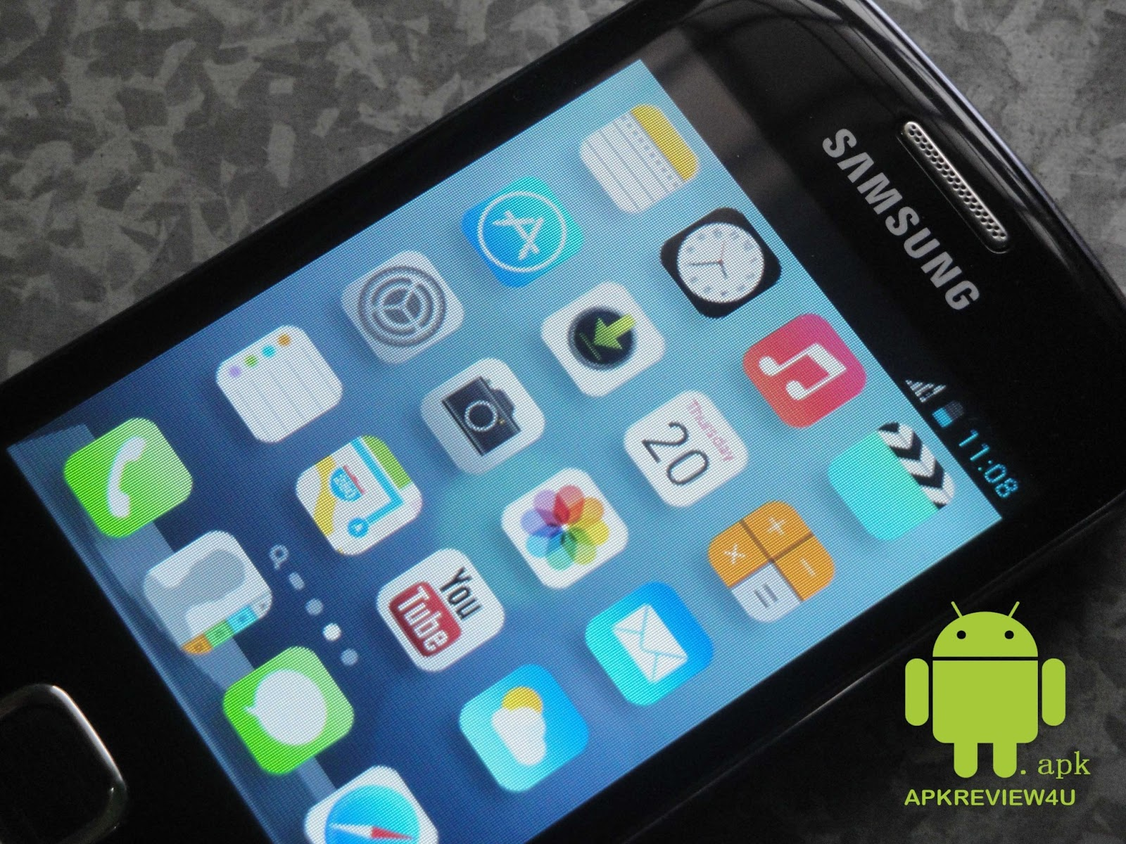 APK REVIEW FOR YOU : How to get iOS 7 ui on any android mobile?