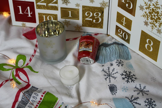 yankee candle advent calendar christmas